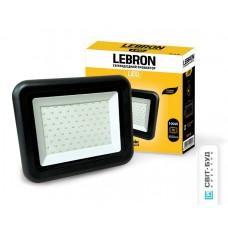 LED прожектор Lebron LF, 100W, 6500K, 8000Lm, угол 120 °, 170-265V