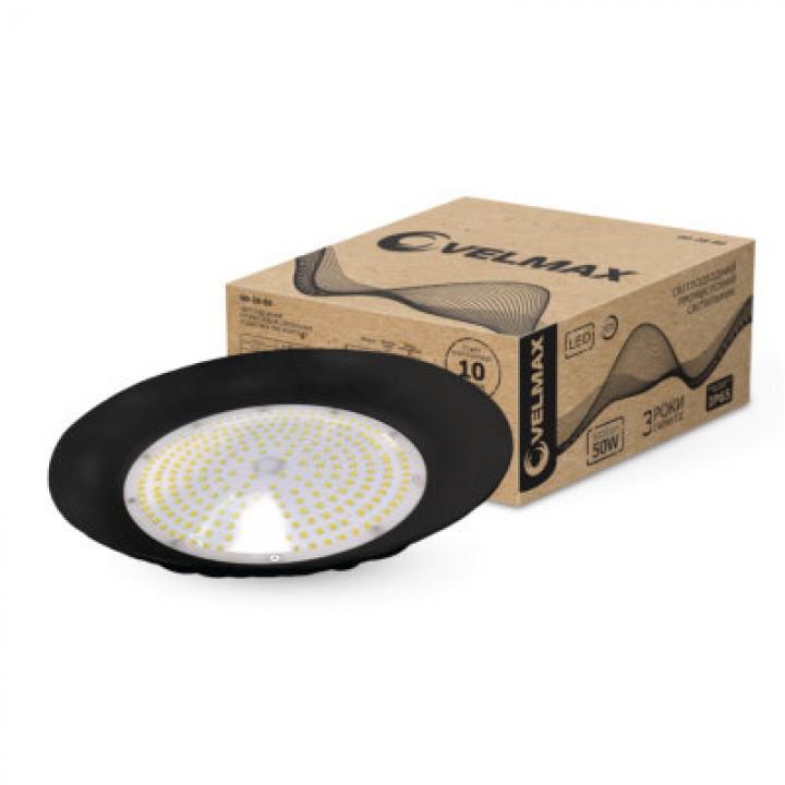 LED светильник VELMAX V-HB, 150W, промышленный, 6500K, 18000Lm, IP65, 230V