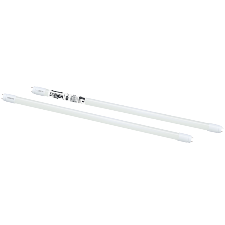 LED лампа Lebron L-Т8, 18W, 1200мм, G13, 6200K, 1800Lm