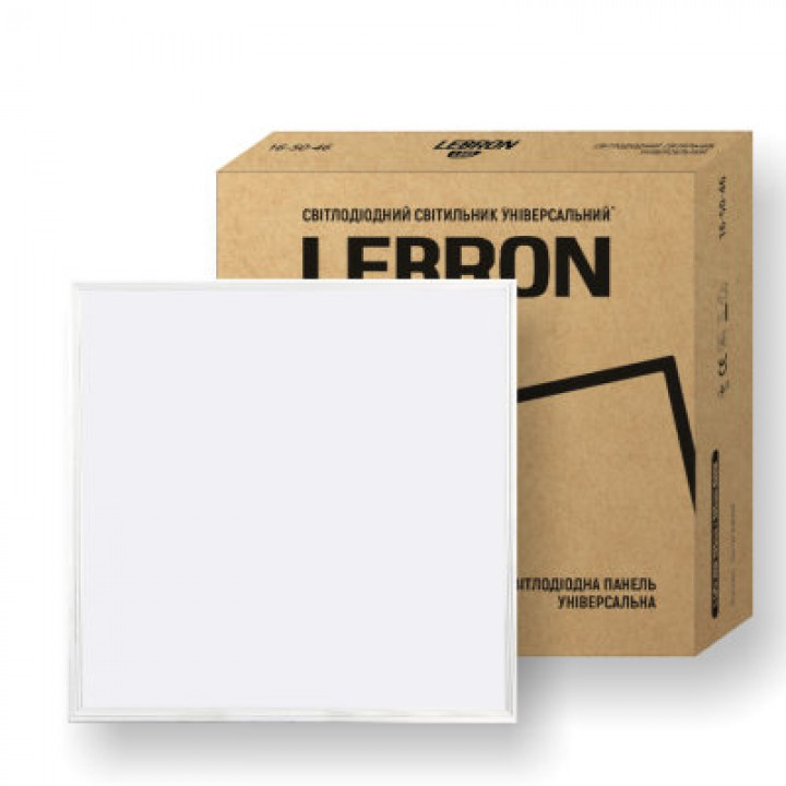 LED светильник Lebron L-LPU, 40W, универсальный, 595x595mm, 4000K, 3200Lm